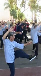 אמנות לחימה סינית טאי צ'י תנועה ובריאות