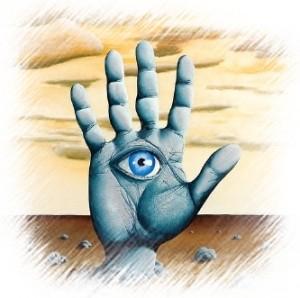 המבט בטאי צ'י ותנועת הידיים