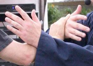 Pushing Hands also known as Sensing Hands Tai Chi Colorado Springs