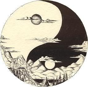Yin-Yang Scene